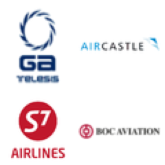 GA Telesis, AirCastle, S7 Airlines, BOC Aviation